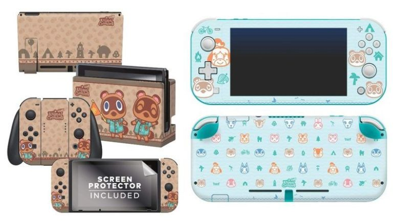 Nintendo Switch & Switch Lite New Skins