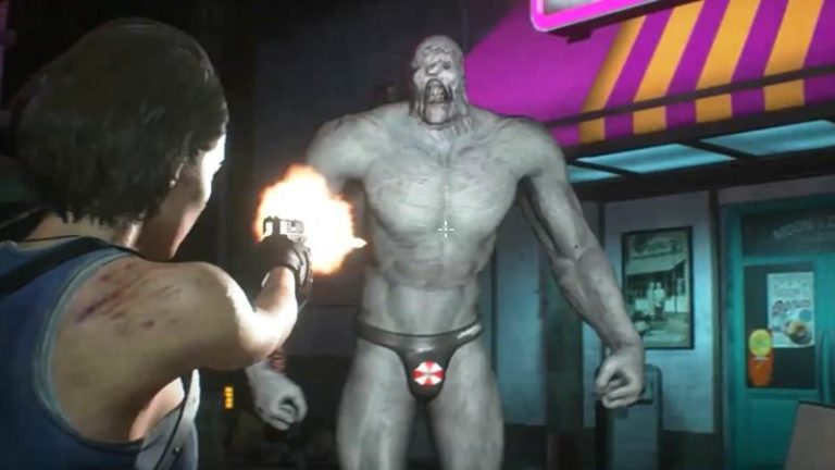 Resident Evil 3 Remake Beachboy Nemesis Mod Available Now