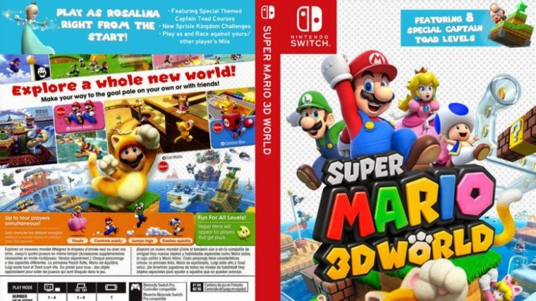 Super Mario 3D World Nintendo Switch
