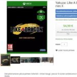 Xbox Series X and Yakuza: Like a Dragon