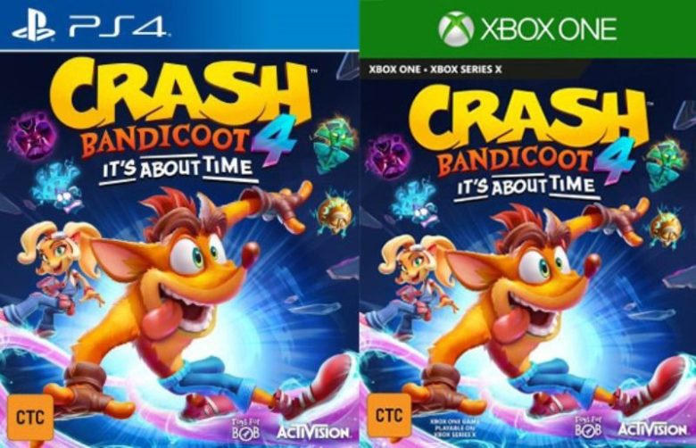Crash Bandicoot 4: It's About Time Leaks