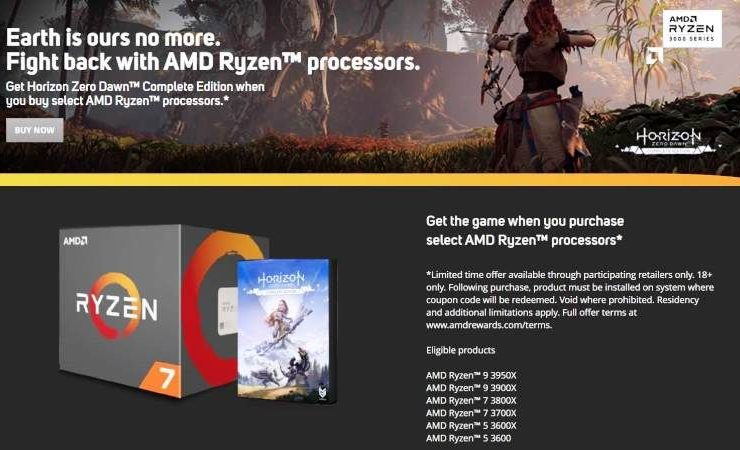 Horizon Zero Dawn Complete Edition Free AMD