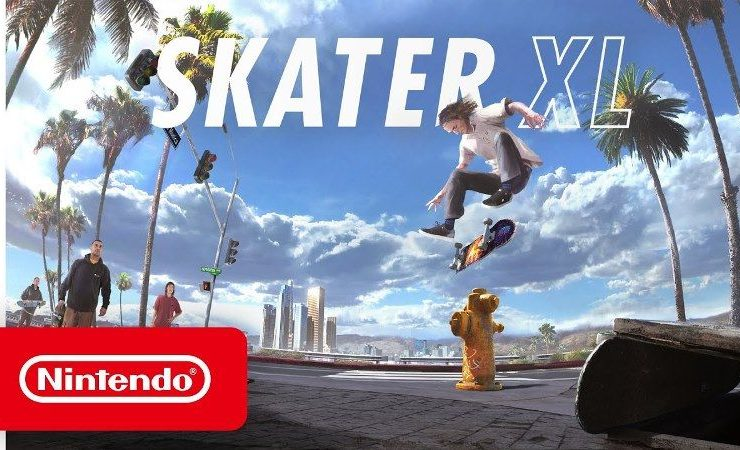 Skater XL Nintendo Switch