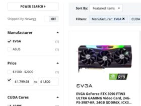 NewEgg Leaks Price EVGA Custom GeForce RTX 3090