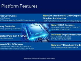 Intel Core 11th Gen Rocket Lake-S CPU Technical Details