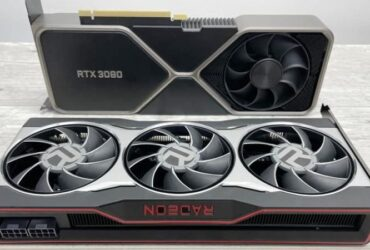 AMD Radeon RX 6800 XT Is Half The Frame Rate of GeForce RTX 3080