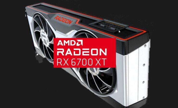 AMD Radeon RX 6700 XT GPU