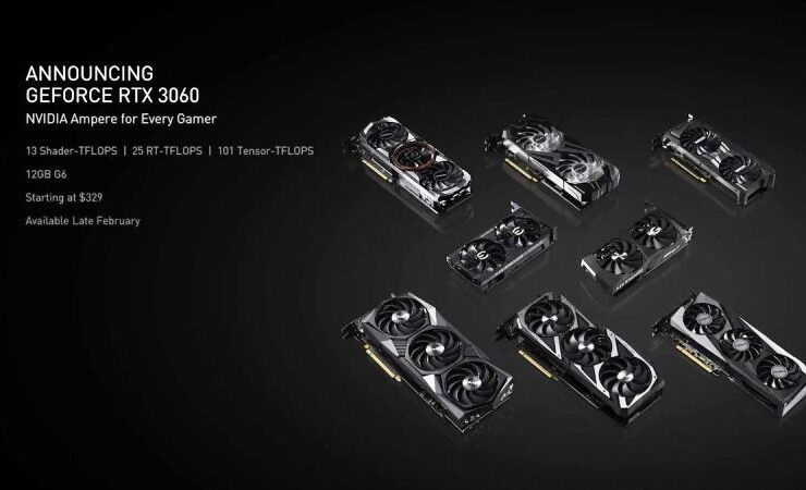 Nvidia GeForce RTX 3060 Release Date Confirmed