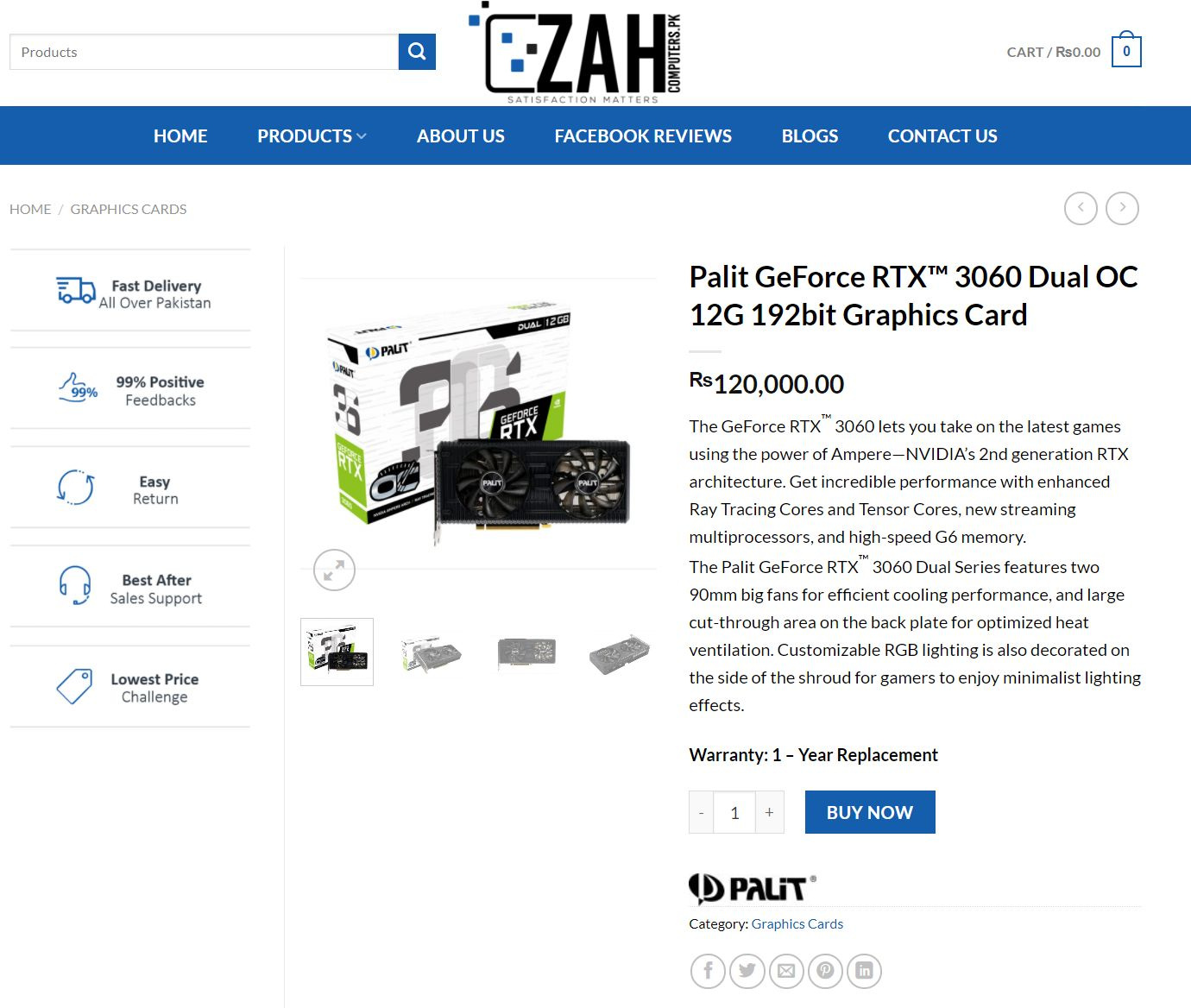 Nvidia GeForce RTX 3060 Scalpers Price